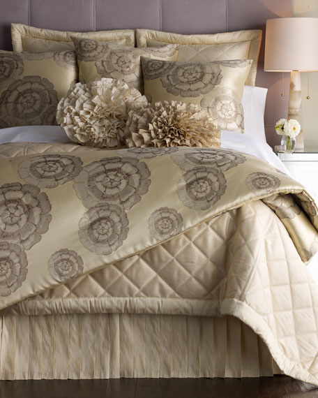 "King Diamond Coverlet,  112""W x 98""L"