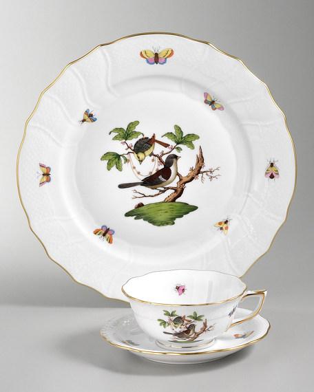 Herend Rothschild Bird Dessert Plate