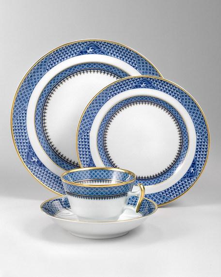 Mottahedeh Indigo Wave Dinner Plate