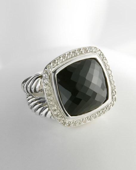 David Yurman Albion Ring with Black Onyx and