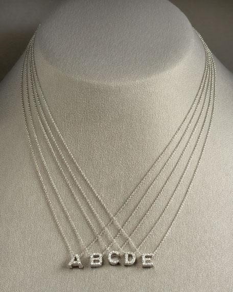 Roberto Coin Diamond Love Letter Necklace, B