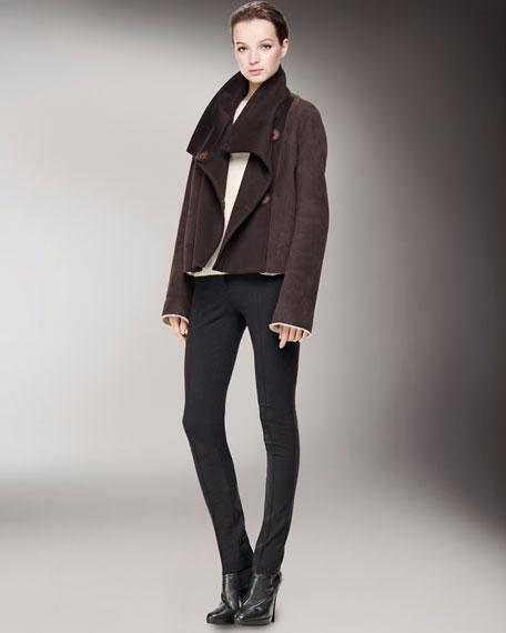 Side-Zip Legging