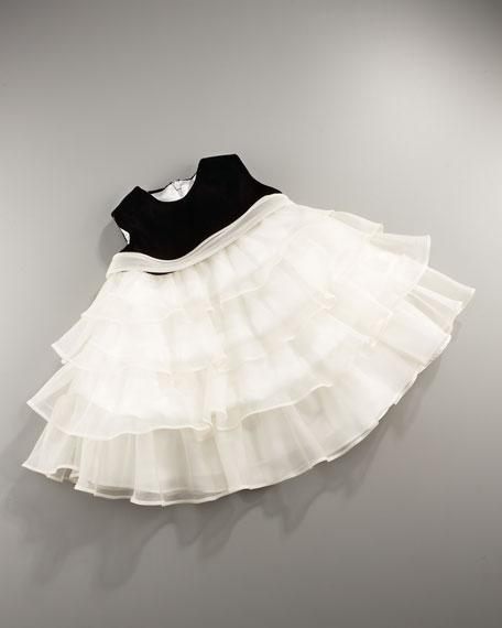 Ruffle-Skirt Dress, 12-24M