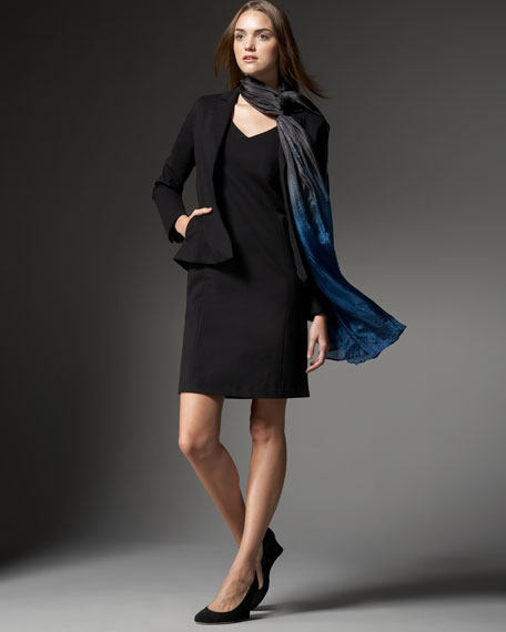Shaped Ponte Jacket, Women's