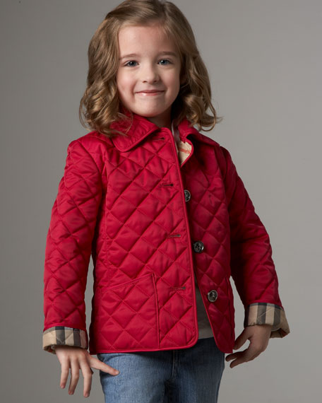 Quilted Jacket, Sizes 2-6