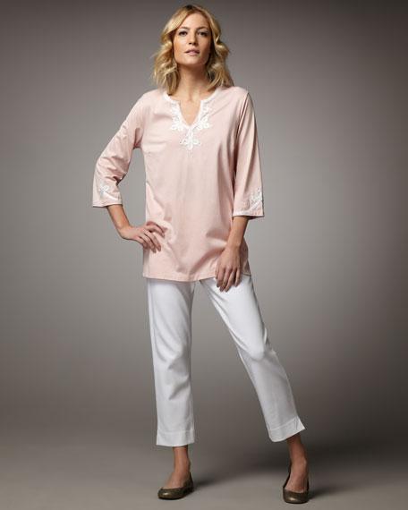 Embellished Cotton Tunic, Petite