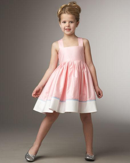 Bow-Back Dress, Sizes 2-4T