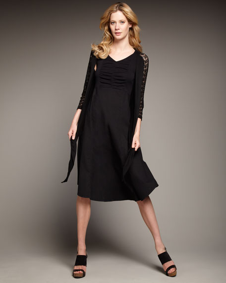 Drapey Knit Dress, Women's