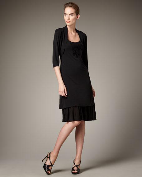 Half-Sleeve Shrug, Women's