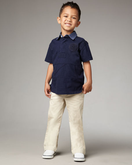 Basic Sand Suffield Pants, Sizes 2T-4T