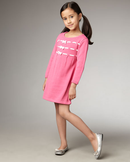 Dash of Pink Dress, Sizes 2T - 4T