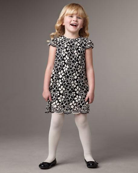 Flower Dress, Sizes 4-6