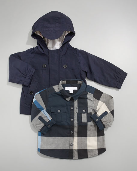 Hooded Packable Coat