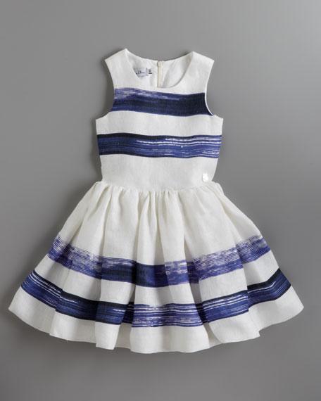 Marveilleuses Striped Dress, Sizes 5-8