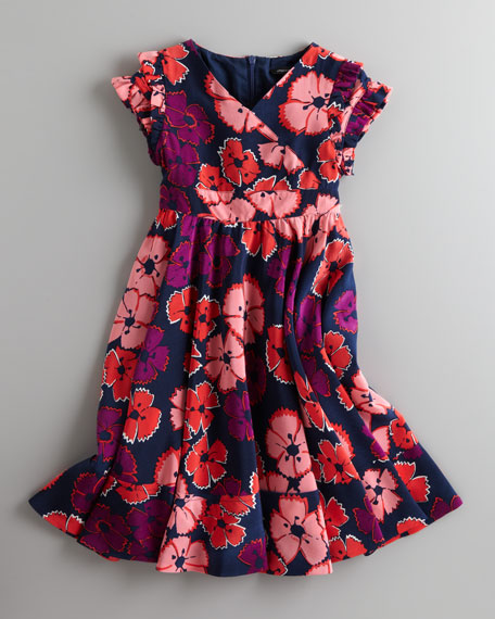 Kaylee LouLou Floral Dress, Sizes 8-10