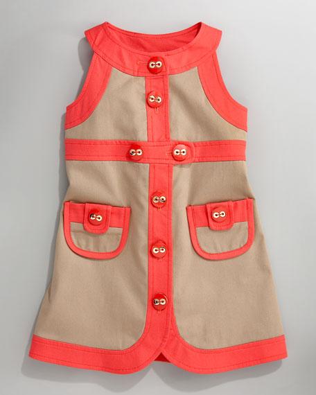 Raelin Belted Dress, Sizes 2-6