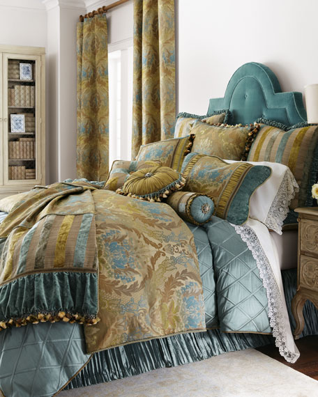 WINDSOR GARDEN SILK QN DUVET