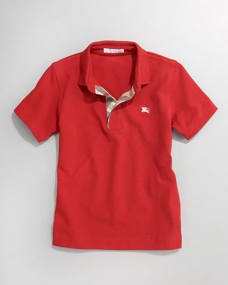 Linter Pique Polo, Sizes 2-6