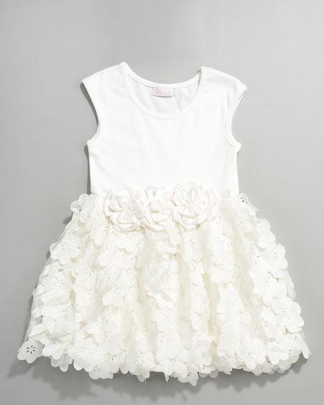 Tiny Trousseau Blossom Sleeveless Dress, Sizes 2T-4T