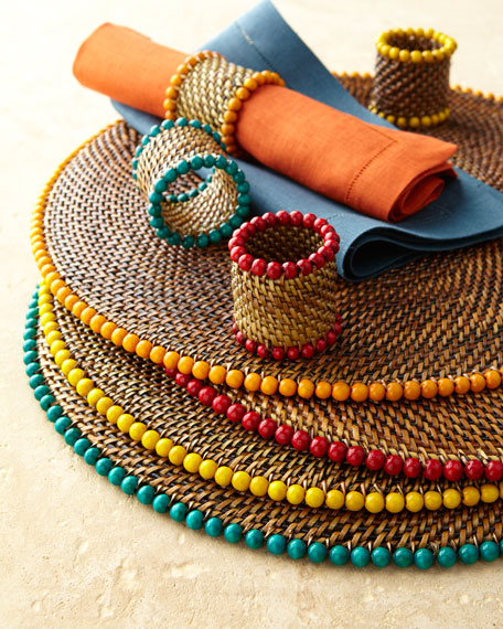 Four Bead Place Mats