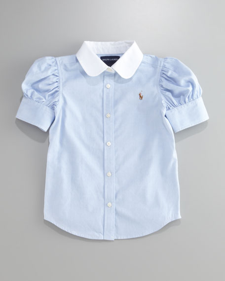Pinpoint Oxford Shirt, 2T-4T