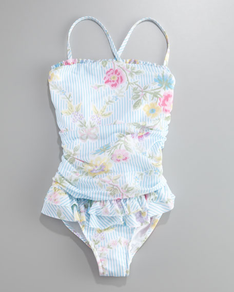 Ruffled Swimsuit, 2T-4T