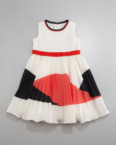 Mini Chrissy Sunburst Dress, Sizes 8-10