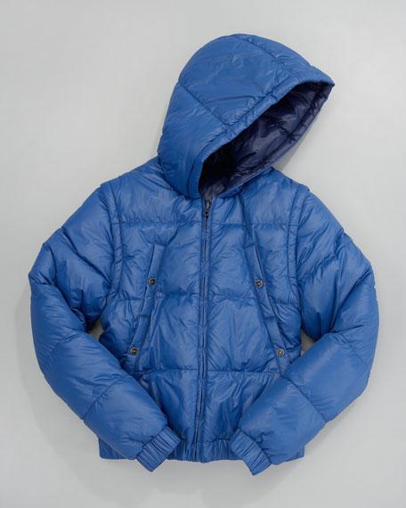 Reversible Hooded Jacket, Sizes 2-5