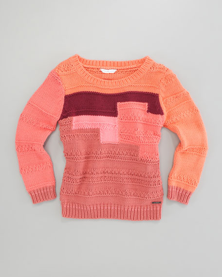 Colorblock Sweater, Sizes 2-5
