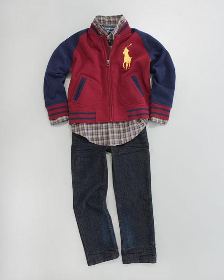 Big Pony Baseball Jacket, Sizes 2-7
