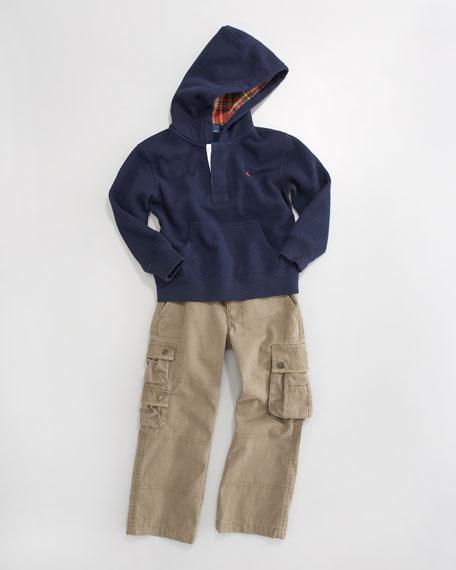 Pullover Fleece Hoodie, Sizes 2-7