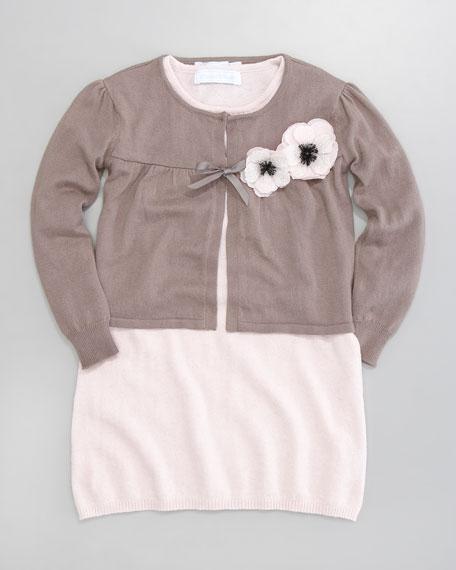 Cachou Knit Cardigan, Sizes 2-6