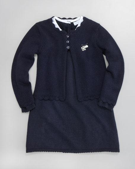Carline Knit Cardigan, Sizes 2-6