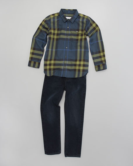 Mini-Hadley Check Shirt