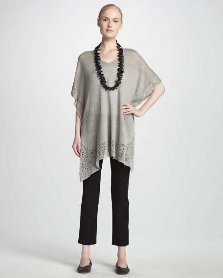 Lace Trim Tunic, Women's