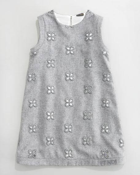 Eyelet Embroidery Dress, Sizes 6-8