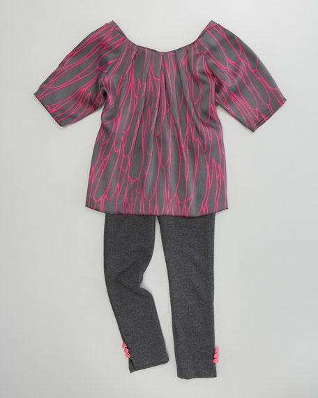 Stella Scribble Tunic, Sizes 2-6