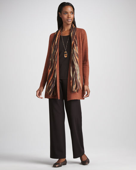 Long Wool Cardigan, Women's