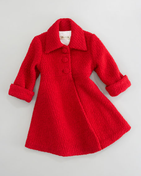 BOUCLE DRESS COAT4-6X