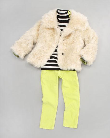 Faux-Fur Chubby Jacket