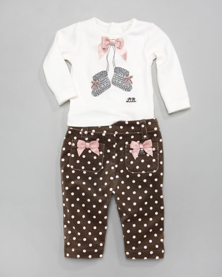 Lepion Dot-Print Pants