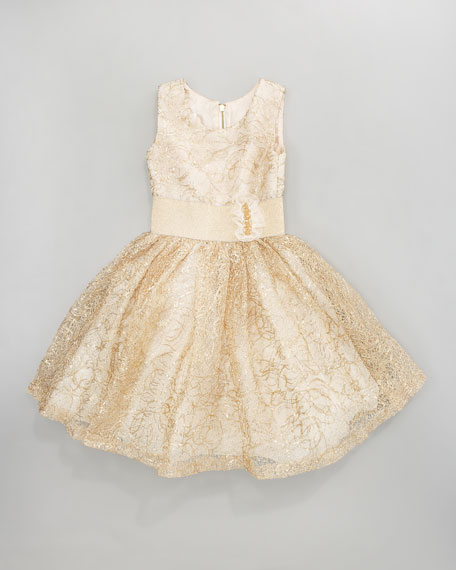 Sequined Tulle Dress, Sizes 8-10