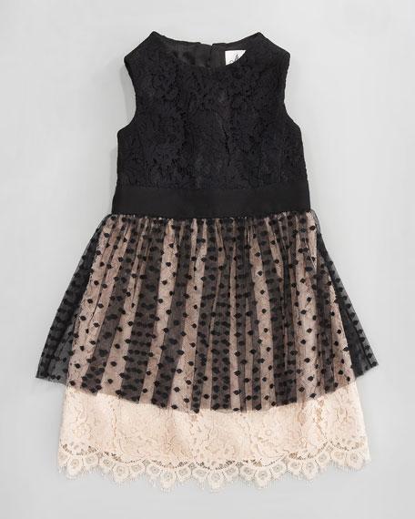 Jane Combo Dress, Sizes 2-6