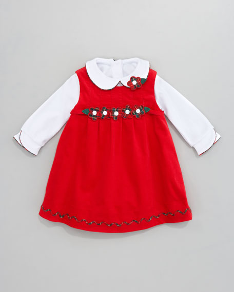 Let it Snow Knit Shirt, 3-9 Months