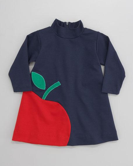 Florence Eiseman Apple Ponte Dress, Sizes 2T-3T