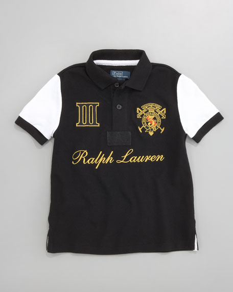 Novelty Mesh Polo, Sizes 2-7