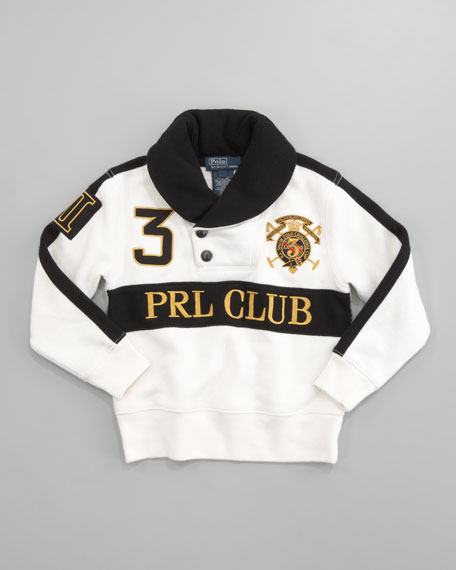 Novelty Polo Club Fleece, Sizes 2-7