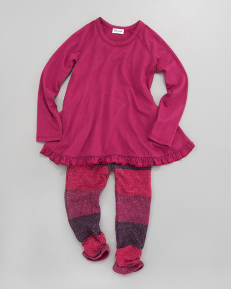 Tunic & Sparkle Leggings Set, Sizes 4-7X
