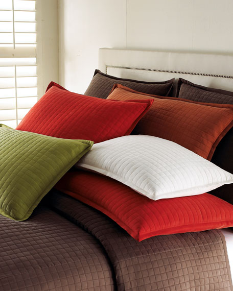 Each Quilted King Sham