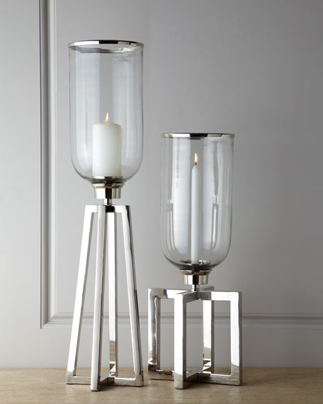 John-Richard Collection Short Structured Candle Stand